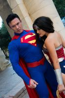 Wonder Woman and Superman 4 by Clair85