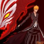 ichigo_bankai_hollow by imad-LP