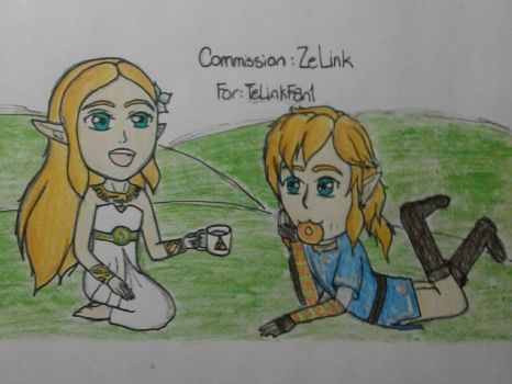 AT: ZeLink picnic by Allora2500