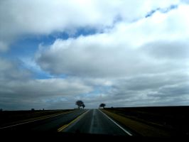 That Lost Highway by VampyreArtist