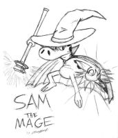 Sam the Mage by Cartoon-Eric