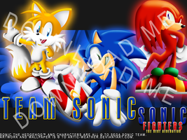 .:SNFG:. Team Sonic Wallpapers by ARTic-Weather
