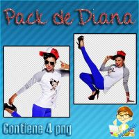 Pack de Diana Sanchez (ZIP) by NaMuchiiiTo