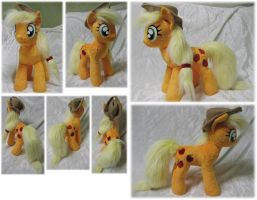 Applejack plushie by Rens-twin