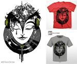Art Music -Shirt Design UlisesBolivar by ulisesart2