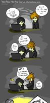 Xion Finds The Yaoi Source by Laikkuseia