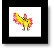 pixel moltres by fire-gust