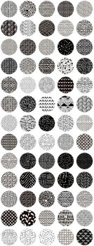 99% Off! 65 Monochrome Patterns by HelgaHelgy