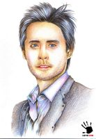 JARED LETO 's Drawing by amerakat