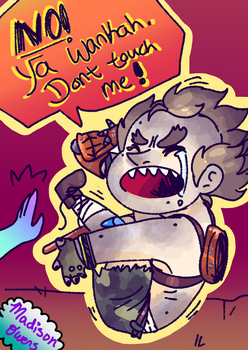 Lil junk baby by toby123zombie
