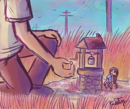 Wishing Well by Friendlyfoxpal