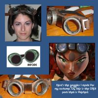 Ashelin's Jak X Goggles by QueenToast