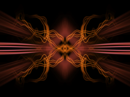 Abstract tribal two by Red-wins