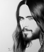 Jared Leto by FromPencil2Paper