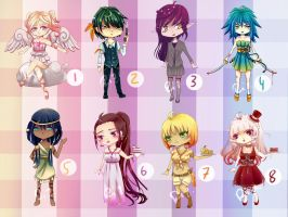 [Closed]Left-over adopts need a new home .... #1 by riz-cake-adopts