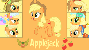 Applejack Wallpaper by Eelan92