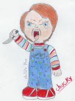 chibilubers - chucky by SrPelo