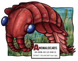Anomalocaris by Monster-Man-08