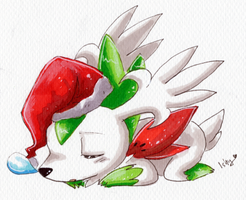 Sleepy Christmas. by Ishisu