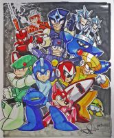 Mega Man 3 tribute for Mega Ran by drios
