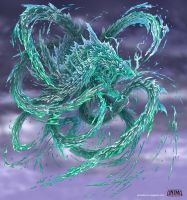 Anima: Water elemental boss by Wen-M