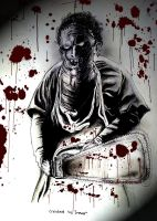 Leatherface by THEE-SLAYER