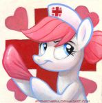 Square Series - Nurse Redheart by sophiecabra