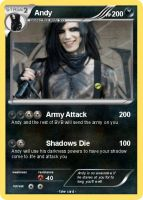Andy Pokemon Card by Observer----1034