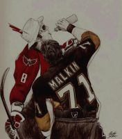 Hockey IX 'the assist' by Skokut