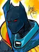 Azrael Batman by Archonyto