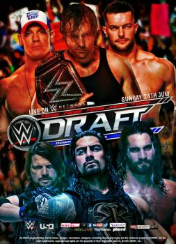 WWE Draft 2016 Poster by SidCena555