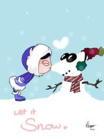 Let it snow - Phineas and Ferb by xCandyliciousx