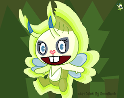 Celebi as a HTF by SomeDumbDeviant