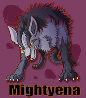 Mightyena by Belldia