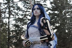 Corpse Bride Cosplay portrait by Elentari-Liv