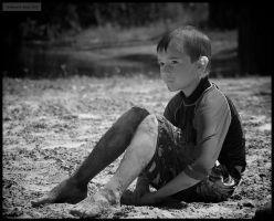 Lost in Thought - and sand... by tmfNeurodancer