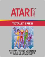 Totally Spies Atari 2600 Main Label by Dorothy64116