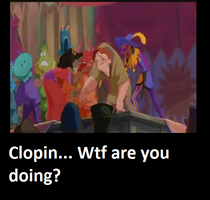 Wtf Clopin! by DragonTina