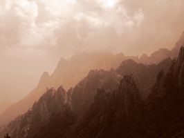 Huan Shan (Yellow montains) by clalepa