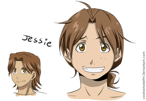 Jessie redesigned by cookiemotel94