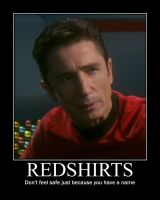 ST:ENT DeMotivators: Redshirts by Likiana