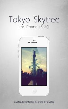 Tokyo Skytree for iPhone 4S by skyofca
