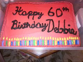 Candle Birthday Cake by wickedwitchinc