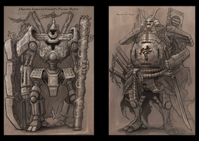 Robot Line Drawing by DONGJUN1987