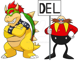 Bowser and Eggman by Ryex-617