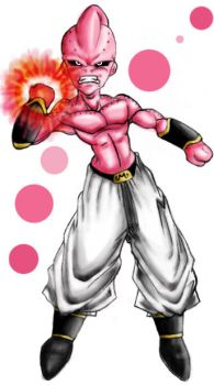 Giga Buu - Color by PsychoT