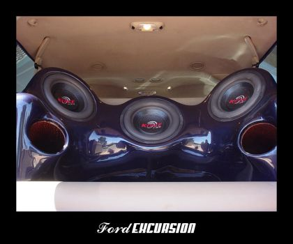 Ford Excursion - Speaker Box by caesar1996