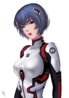 Rei Ayanami by WarrenLouw