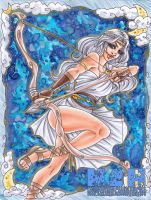 Goddess of the Moon by Hatter2theHare