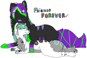 we are forever. by xPluggedWolfx